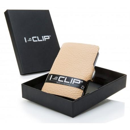 I-CLIP Rakouská telecí kůže – béžová new