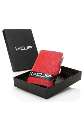 I-CLIP Rakouská telecí kůže – červená new